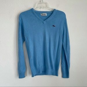 Izod x Lacoste V Neck Soft Orion Acrylic Sweater